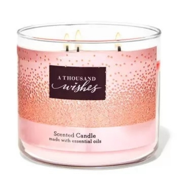 BBW 3 wick candle